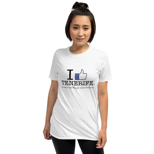 T-shirt I LIKE TENERIFE | Original and Unisex short-sleeves T-shirt - Tenerife Surprise Shop