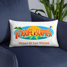 Load image into Gallery viewer, Pillow Playa de Las Vistas - Tenerife Surprise Shop