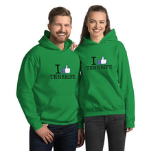 Load image into Gallery viewer, Unisex I LIKE TENERIFE hoodie - Tenerife Surprise Shop