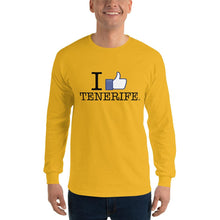 Load image into Gallery viewer, Man's Long Sleeve Shirt I LIKE TENERIFE - Tenerife Surprise Shop