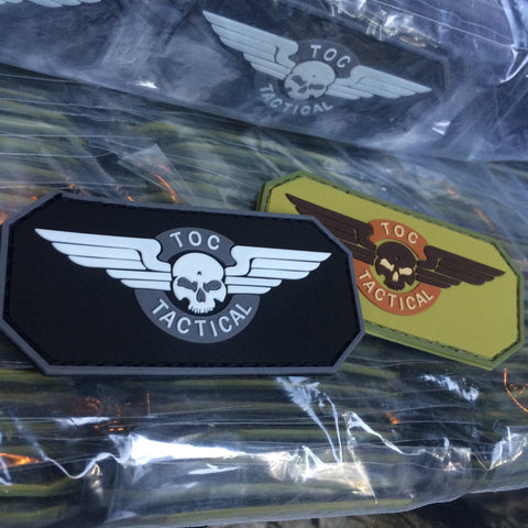 TOC TACTICAL PVC PATCH