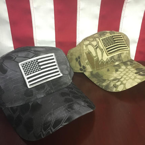Camo Patch Hat w. FREE Patch