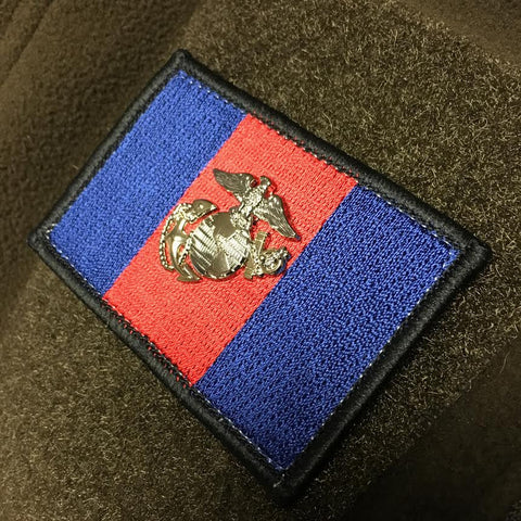MARINE CORPS BLOOD STRIPE PATCH