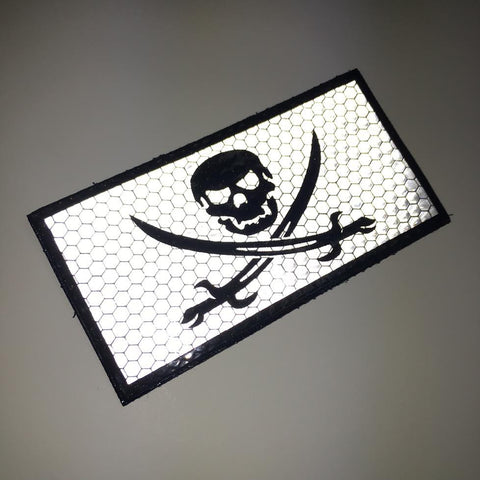 Calico Jack Reflective Patch