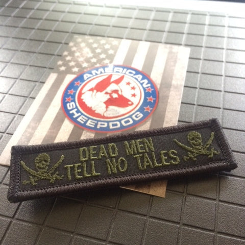 DEAD MEN TELL NO TALES HAT PATCH