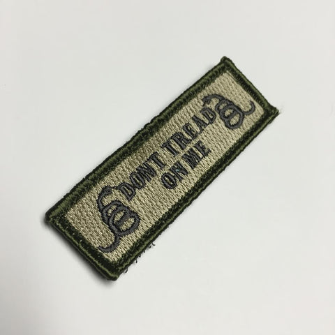 Don't Tread On Me Hat Patch - Multiple Options