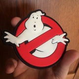 "Ghostbusters ""No Ghost"" 3D PVC Patch - Glow In The Dark"