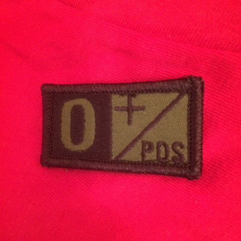 BLOODTYPE Patch