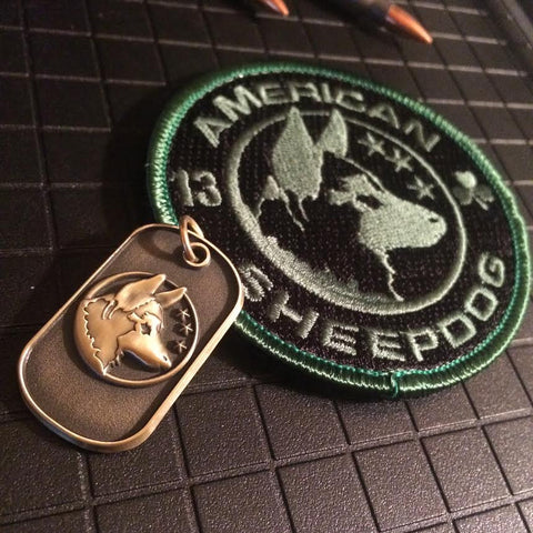 Little Bit O' Luck Patch & Dogtag Package