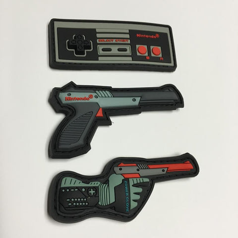 Nintendo Patches - Multiple Options