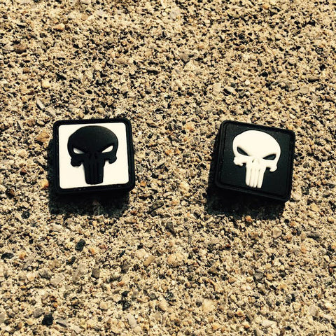 Punisher Skull Ranger Eye Patch - NEW! (Choose Color)