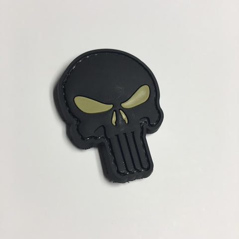 Punisher Skull Patch - Small (Choose Color)