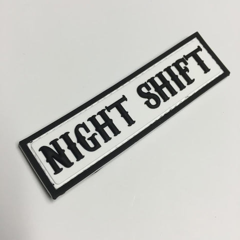 NIGHT SHIFT Patch