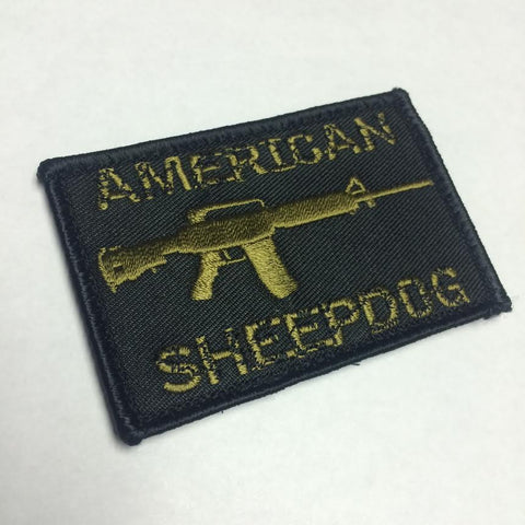 American Sheepdog Rifle Patch