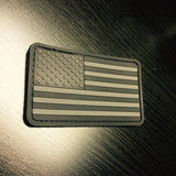 US Flag Patch - Ghost Edition