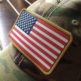 PVC American Flag Patch - Full Color