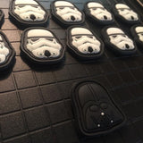 Darth Vader & Stormtrooper PVC Patches