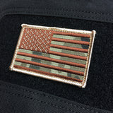 Camo Flag Patch