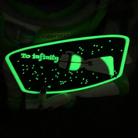 Buzz Lightyear Patch - Glow In the Dark