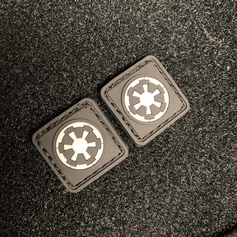 Galactic Empire Imperial Cog Patch (Set of 2)