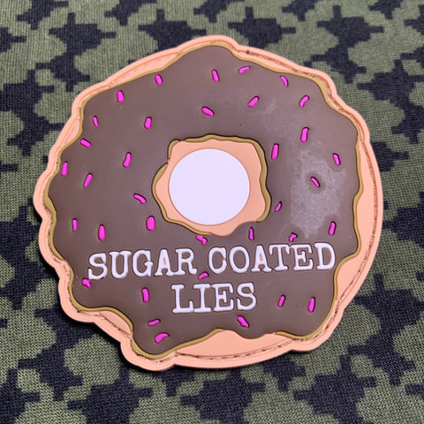 Sugar Coated Lies Donut Patch