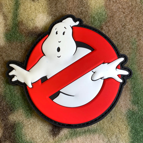 Ghostbusters Logo Patch - Glow In The Dark