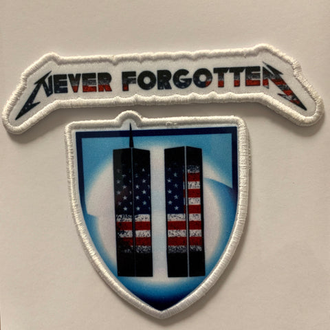 9/11 Tribute Patch Set