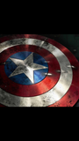 Captain America Shield Patch - Battle Worn