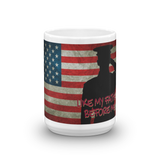 USMC 'LIKE MY FATHER BEFORE ME' MUG