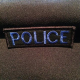 """POLICE"" 1x3"" Mini Nametape"