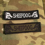 American Sheepdog HIGH VIZ Dog Collar (with velcro loop for patches!) - M/L