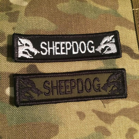 SHEEPDOG Hat Patch