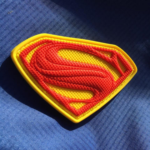 Superman Emblem Patch - Standard Red Edition
