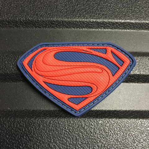 SUPERMAN PATCH - RED/BLUE
