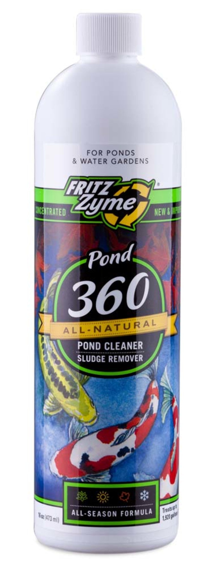 Fritz Pond FritzZyme 360 Liquid Biological Conditioner