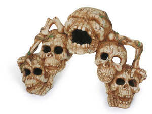 Catacombs Skull Bridge Aquarium Ornament