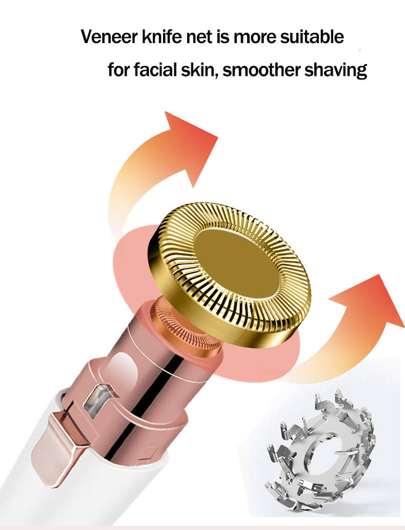 2 IN 1  Electric Eyebrow & Hair Trimmer