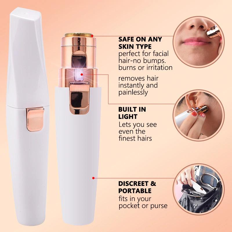 2 IN 1  Electric Eyebrow Trimmer -  - Makeup Suite