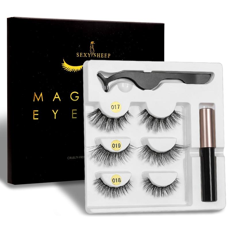 SEXYSHEEP Magnetic Eyelashes Eyeliner Eyelash - Eye - Makeup Suite