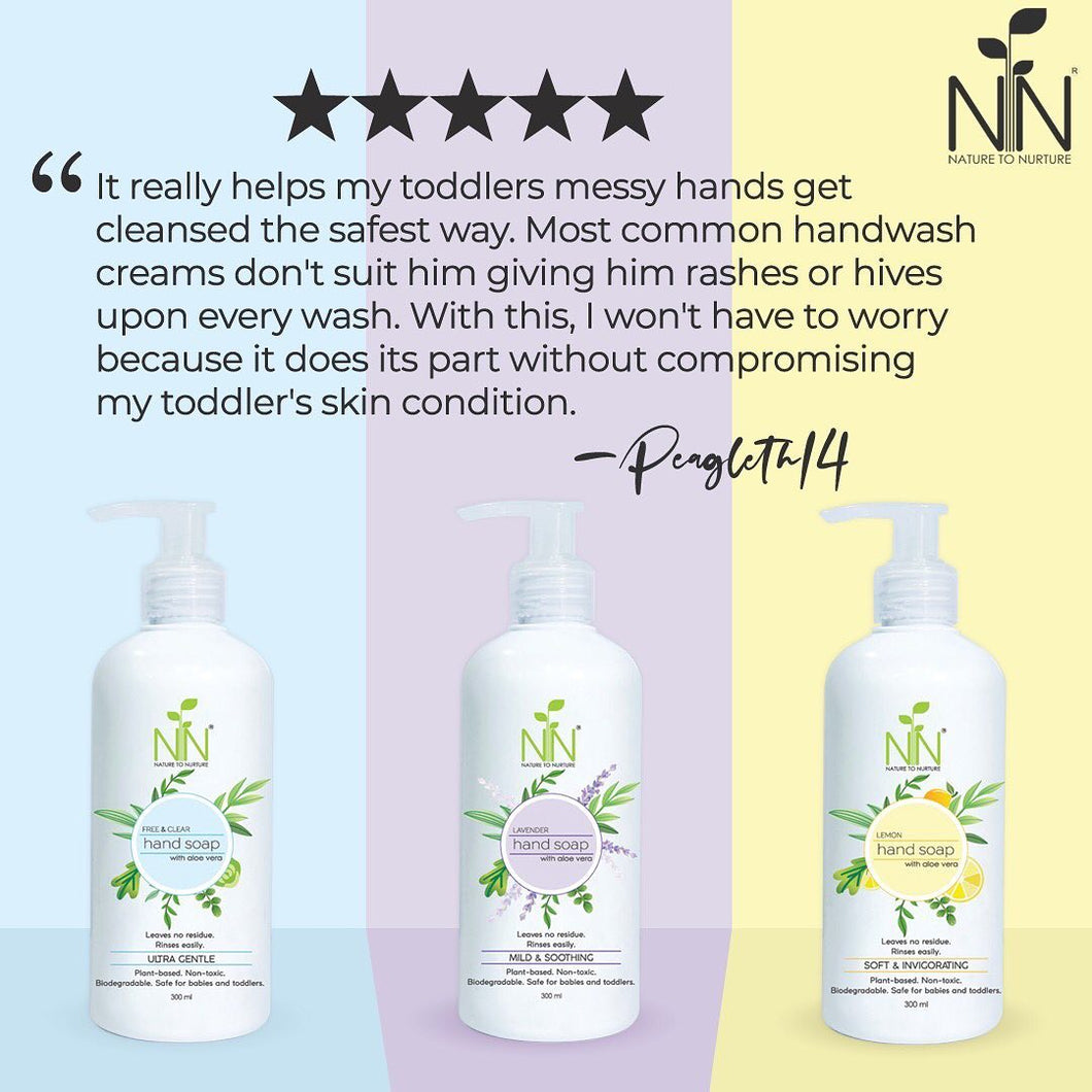 Nature to Nurture Hand Soap with Aloe Vera