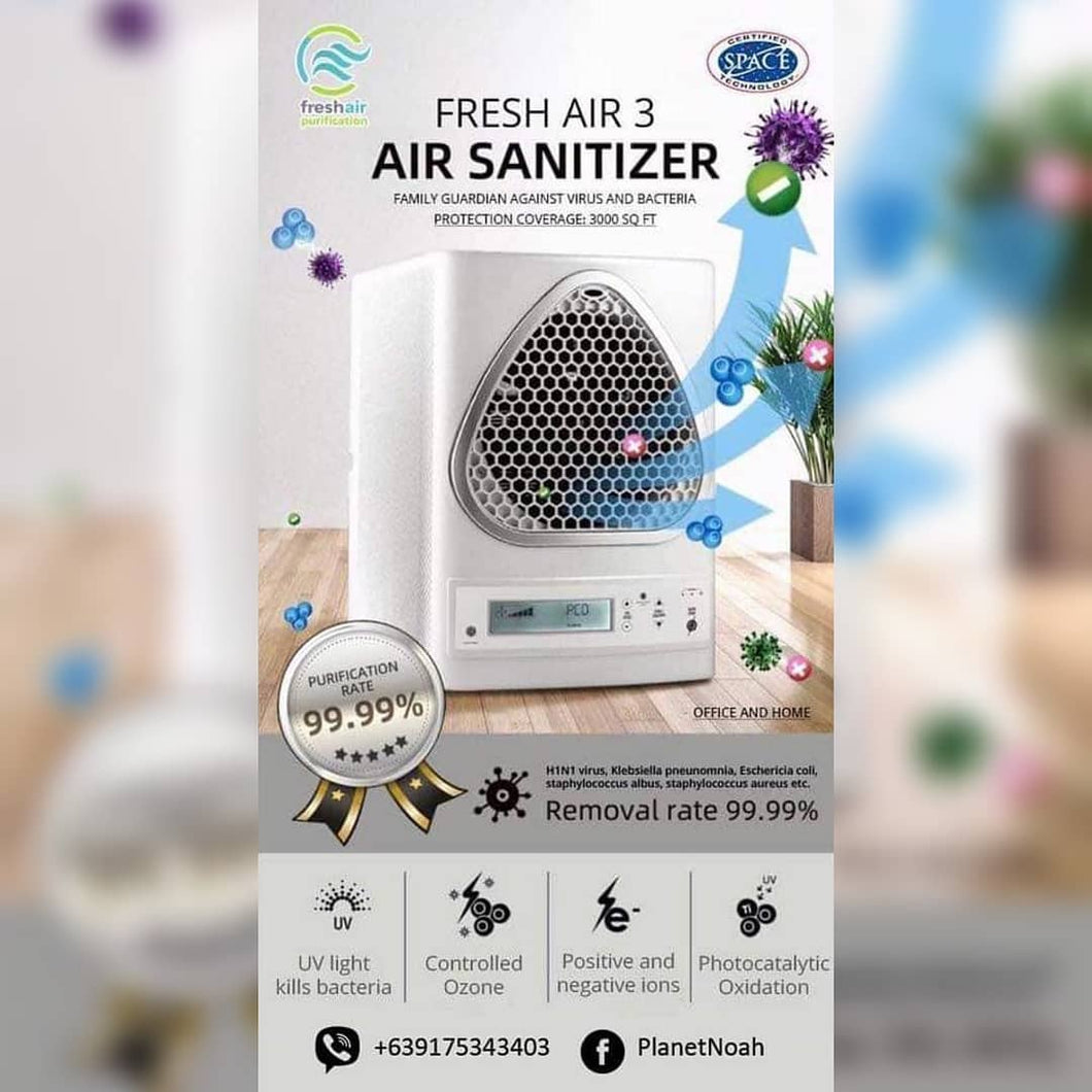 iborg, Freshair 3 and O3 Air Purifiers