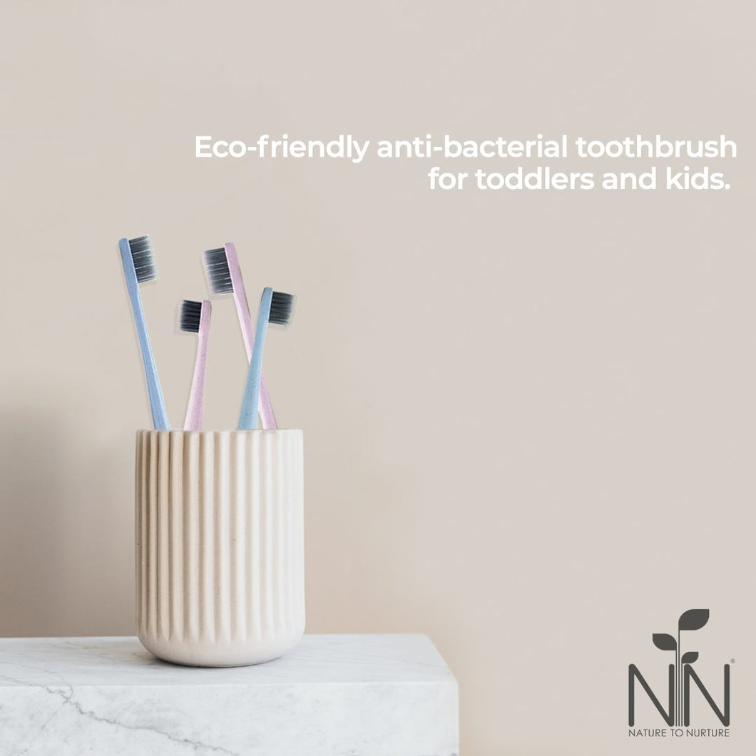 Wheat Straw Bamboo Charcoal Toothbrush