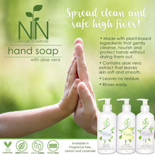 Load image into Gallery viewer, Nature to Nurture Hand Soap with Aloe Vera