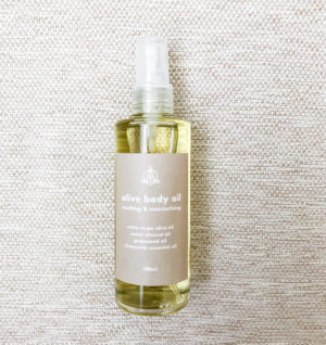 Olive Soothing Body Oil