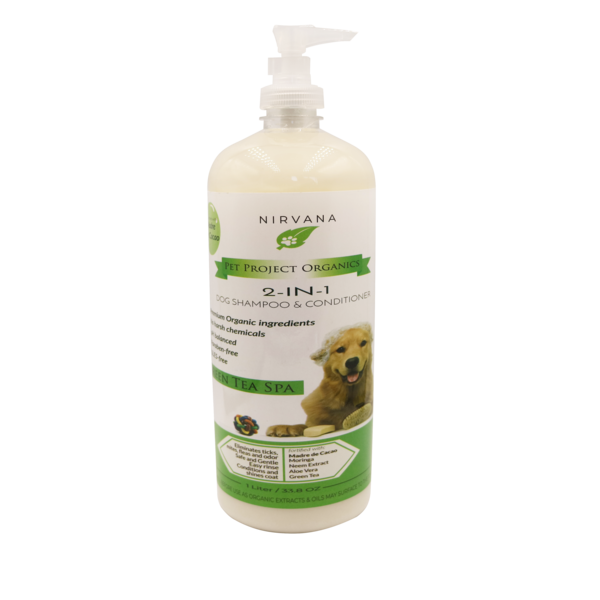 Green Tea Spa - Organic Dog Shampoo And Conditioner