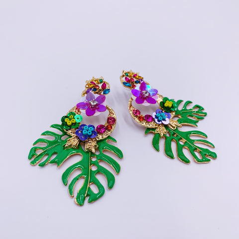 Jungle Dangle Earrings