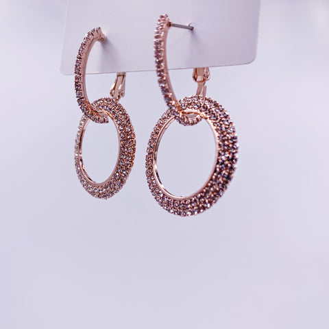 Miami Hoop Dangle Earrings