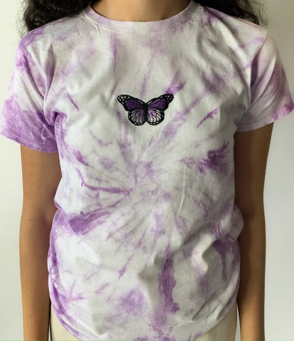 Light Purple Tie Dye T-Shirt