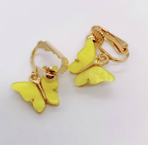Honey Butterfly Earrings