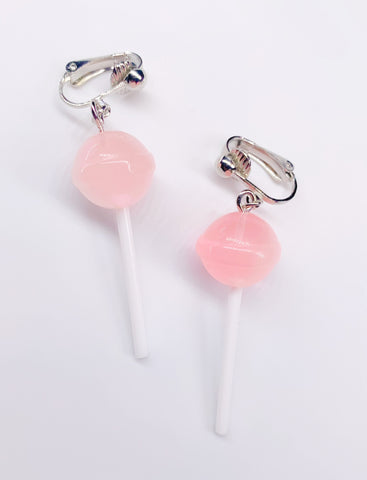 Pink Ombré Lollipop Earrings